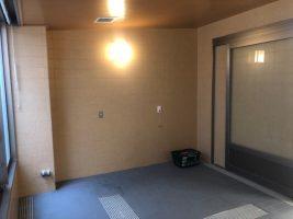 これが元の特別浴室です。どんな風に変身するのでしょう??