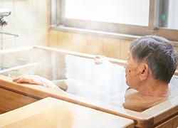 青森ヒバの個人浴槽